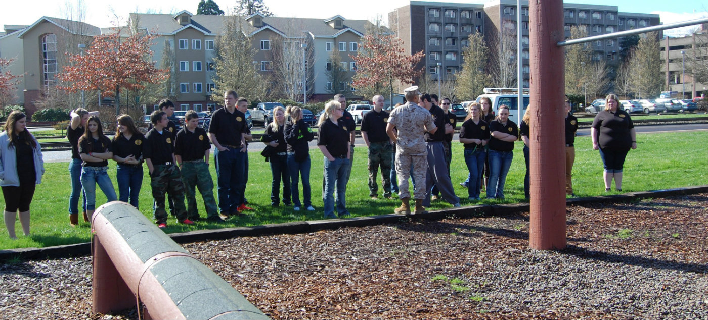 LaPine students